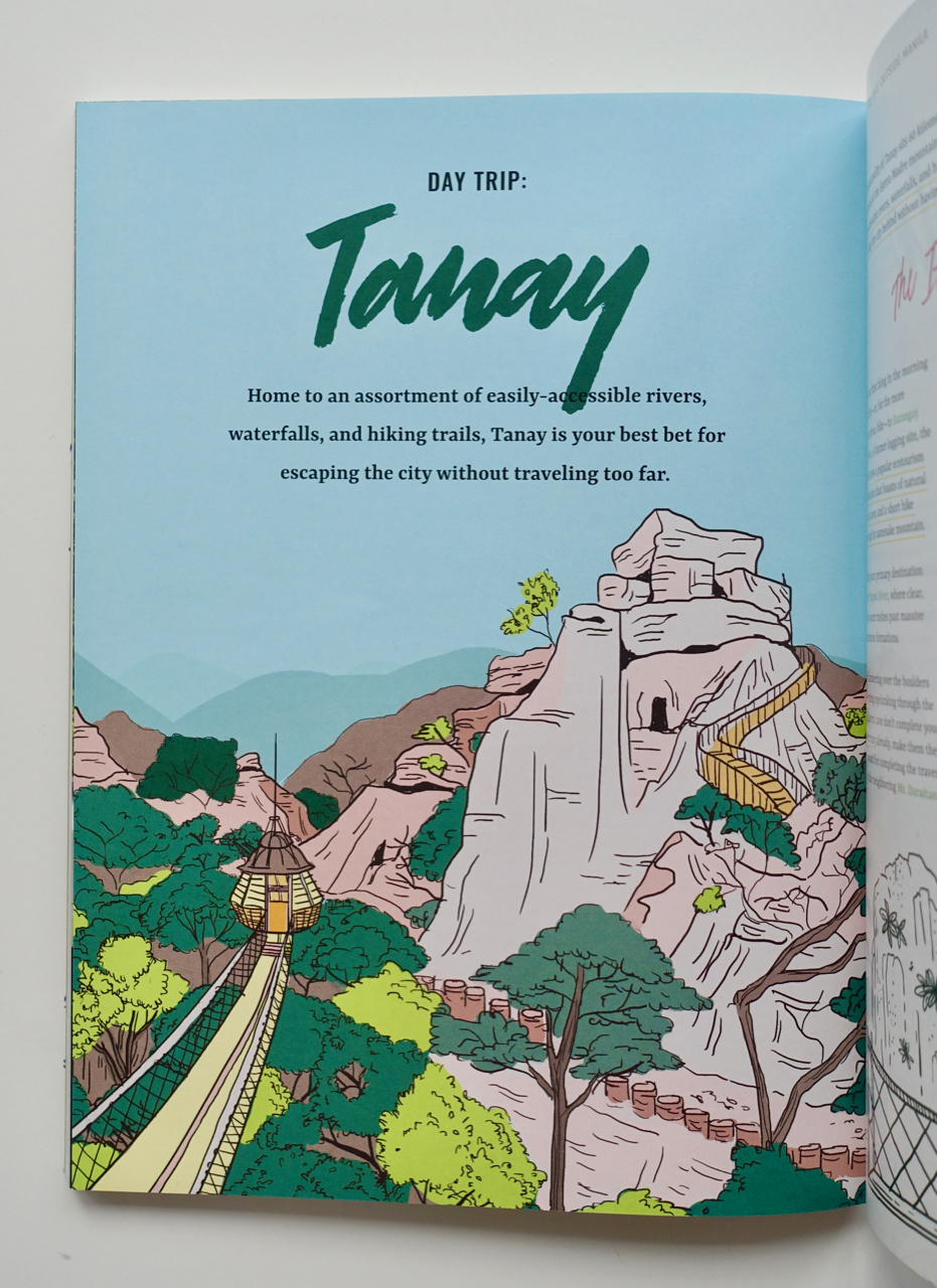 TANAY - Masungi Georeserve, tanays treasure, is front and center