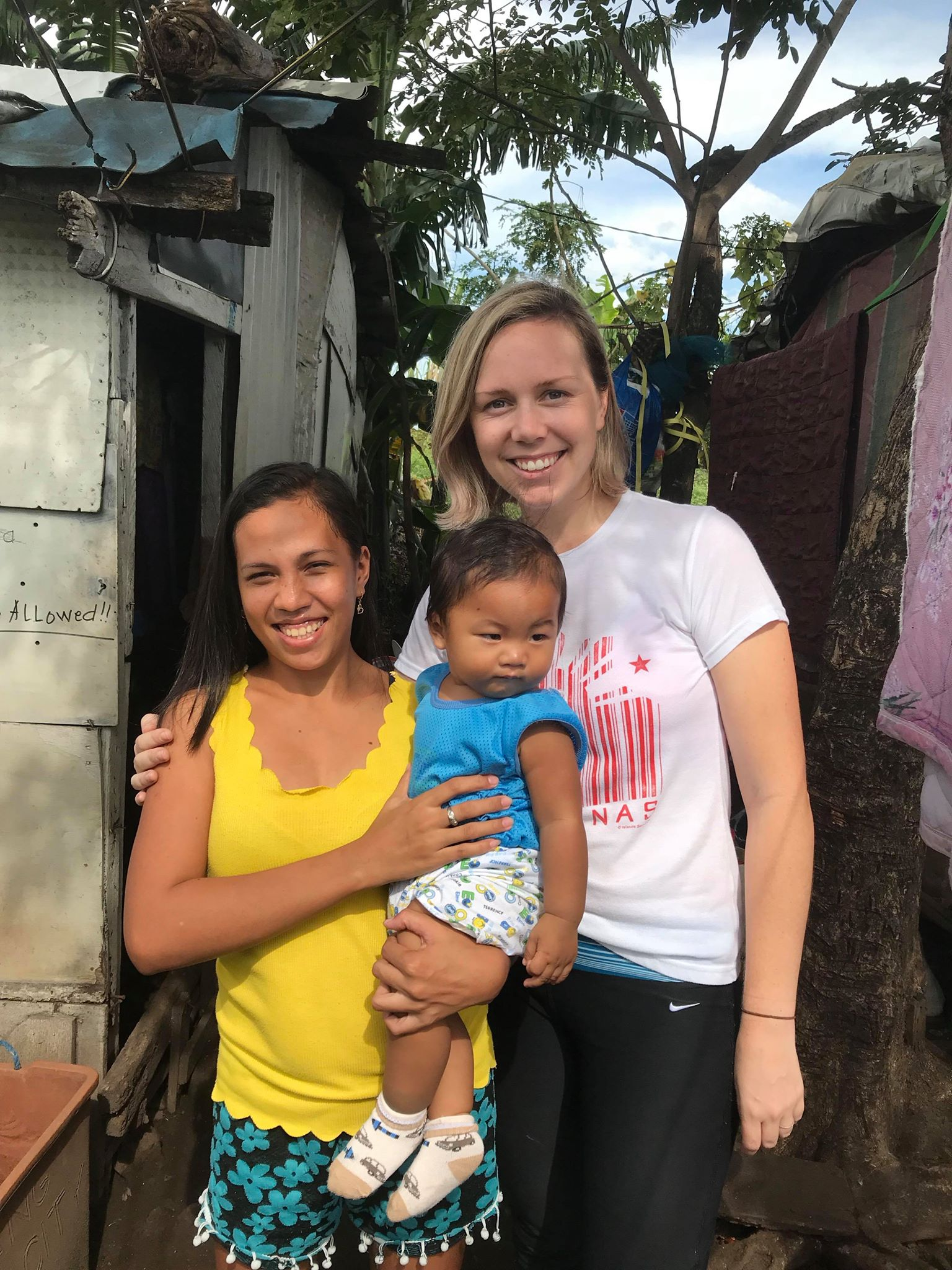 - Romela, Jacob (gigil!) and I last December 2018. Romela inspires me and teaches me often. Her care for her children and family, her honesty about motherhood and her friendship are gifts.