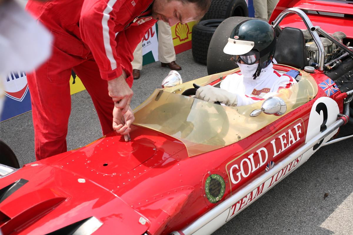 Jochen Rindt Rennfahreroper © Magdalena Lepka