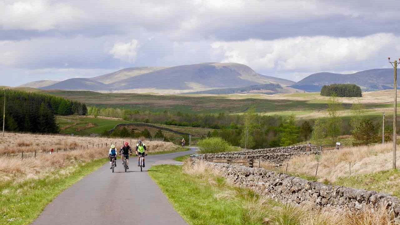 The Galloway Highland rides, Scotland