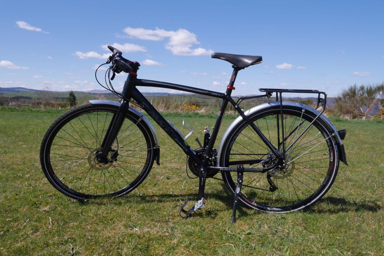 Our Dawes Hybrid bike