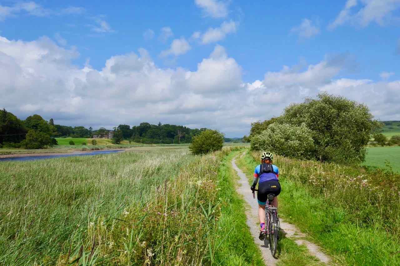 Path along River Dee, Kirkcudbright
