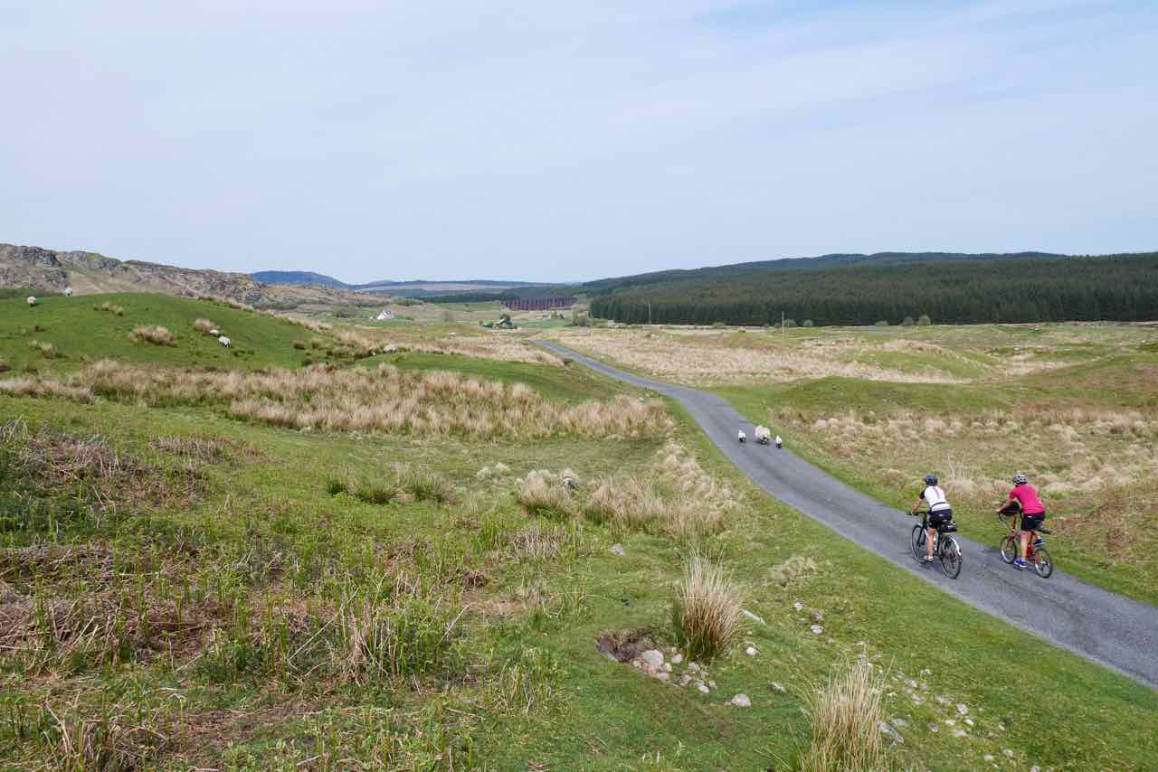Quiet roads of Galloway