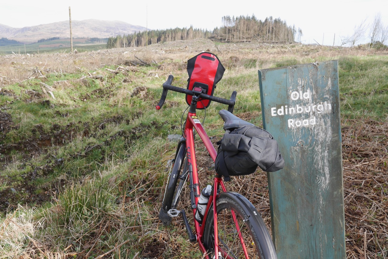 The (very) Old Edinburgh Road from Stranraer to Edinburgh