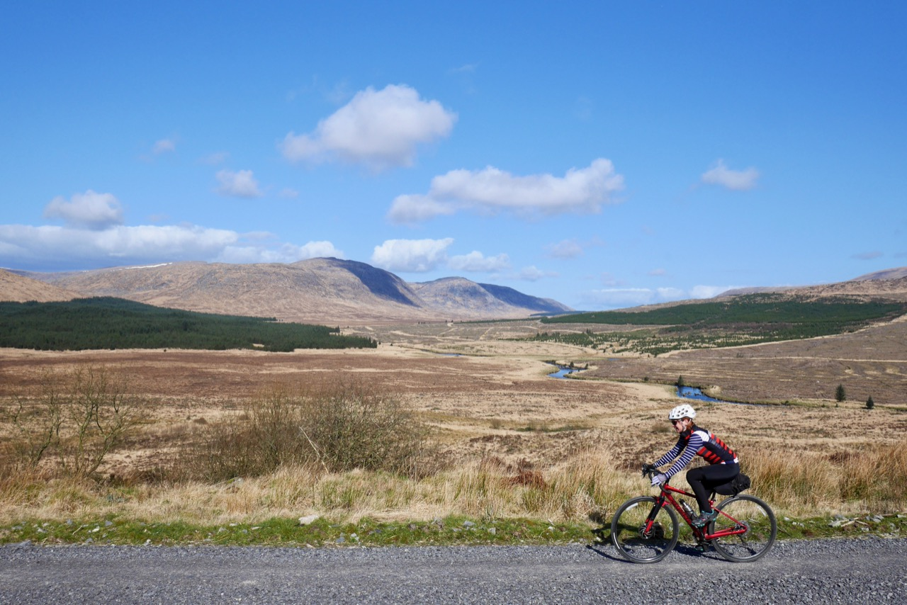 Off to Glentrool, Route 7 (offroad)