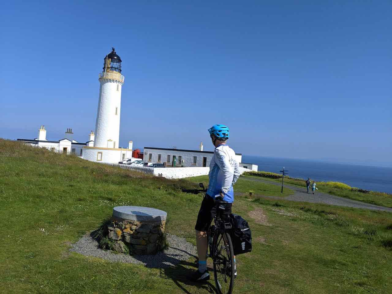 Starting at Mull of Galloway