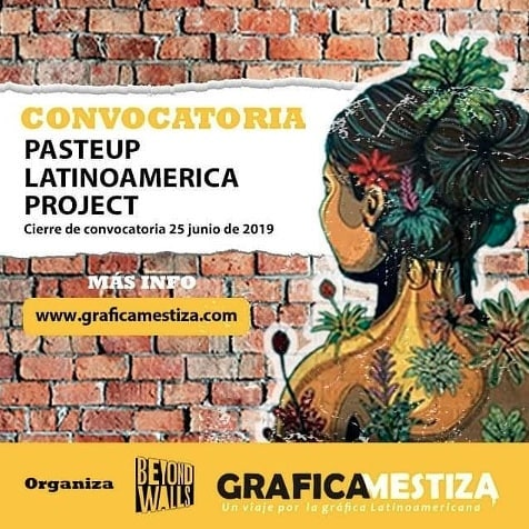 "Call for Entries /// Convocatoria de Arte⠀ PASTEUP LATINOAMÉRICA PROJECT⠀  Calling all artists, muralists, graphic designers and illustrators from Latin America! We're excited to announce a unique opportunity for your designs to be wheatpasted in the streets of Lynn, Massachusetts, USA during the third annual @beyondwallslynn Mural Festival. We're seeking designs of all mediums - from studio to street art - that will create a sense of ""home"" and ""identity"" for Lynn's huge latinx population. LINK IN BIO. Learn more: graficamestiza.com ⠀ ⠀ - - - - - ⠀ ⠀ #repost de @graficamestiza… Llega la tercera edición de Beyond Walls y latinoamérica se pega al parche. Desde Grafica Mestiza y Fresco exchange hacemos un llamado a artistas, muralistas, diseñadores gráficos e ilustradores latinoamericanos para participar en el festival, que se llevará a cabo en las calles de Lynn, Massachusetts, EE.UU desde el 22 de julio hasta el 3 de agosto del 2019. La convocatoria para PASTEUP LATINOAMÉRICA PROJECT tiene como temáticas Migración, Hogar e identidad. Pueden participar artistas latinoamericanos, de manera individual y/o colectiva, y de cualquier edad. Se escogerán 10 diseños que representen el talento y la creatividad de América Latina, que se imprimirán e instalarán en el festival.⠀ ⠀ - - - - - ⠀ ⠀ #artistaslatinos #latinamericanartist #callforart #callforartists #graficamestiza #lynnma #beyondwalls #frescoexchange"