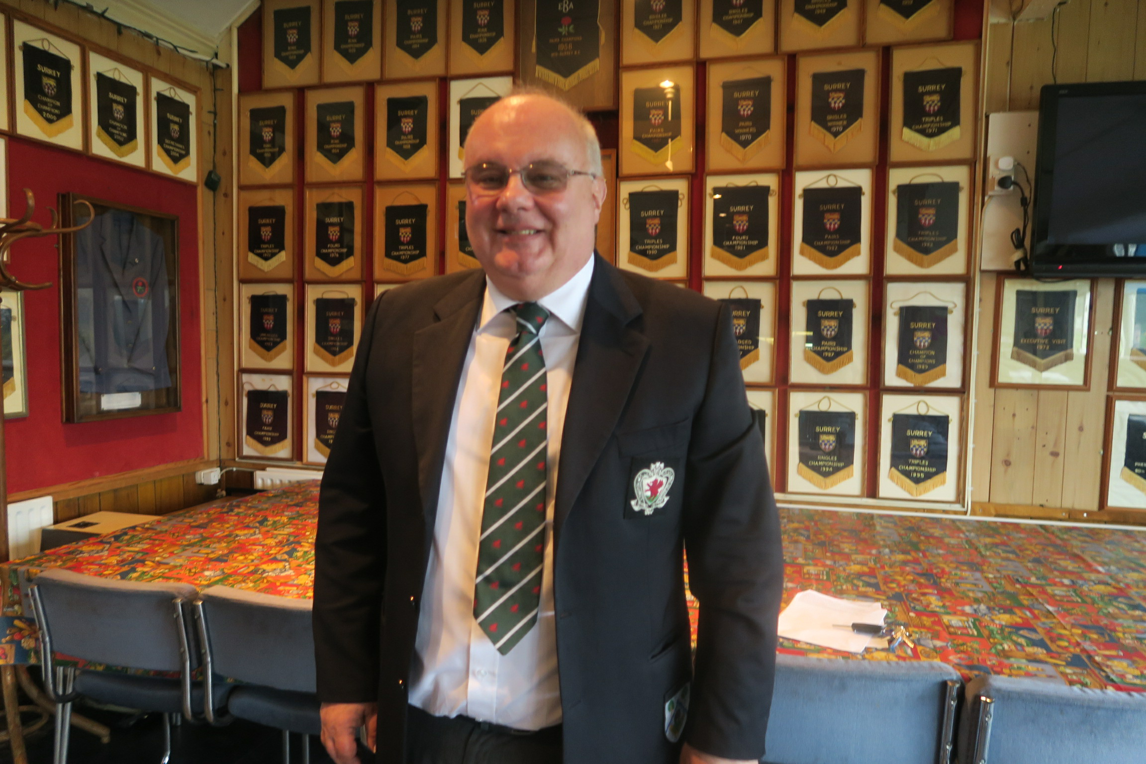 President & Honorary Treasurer - David Lloyd