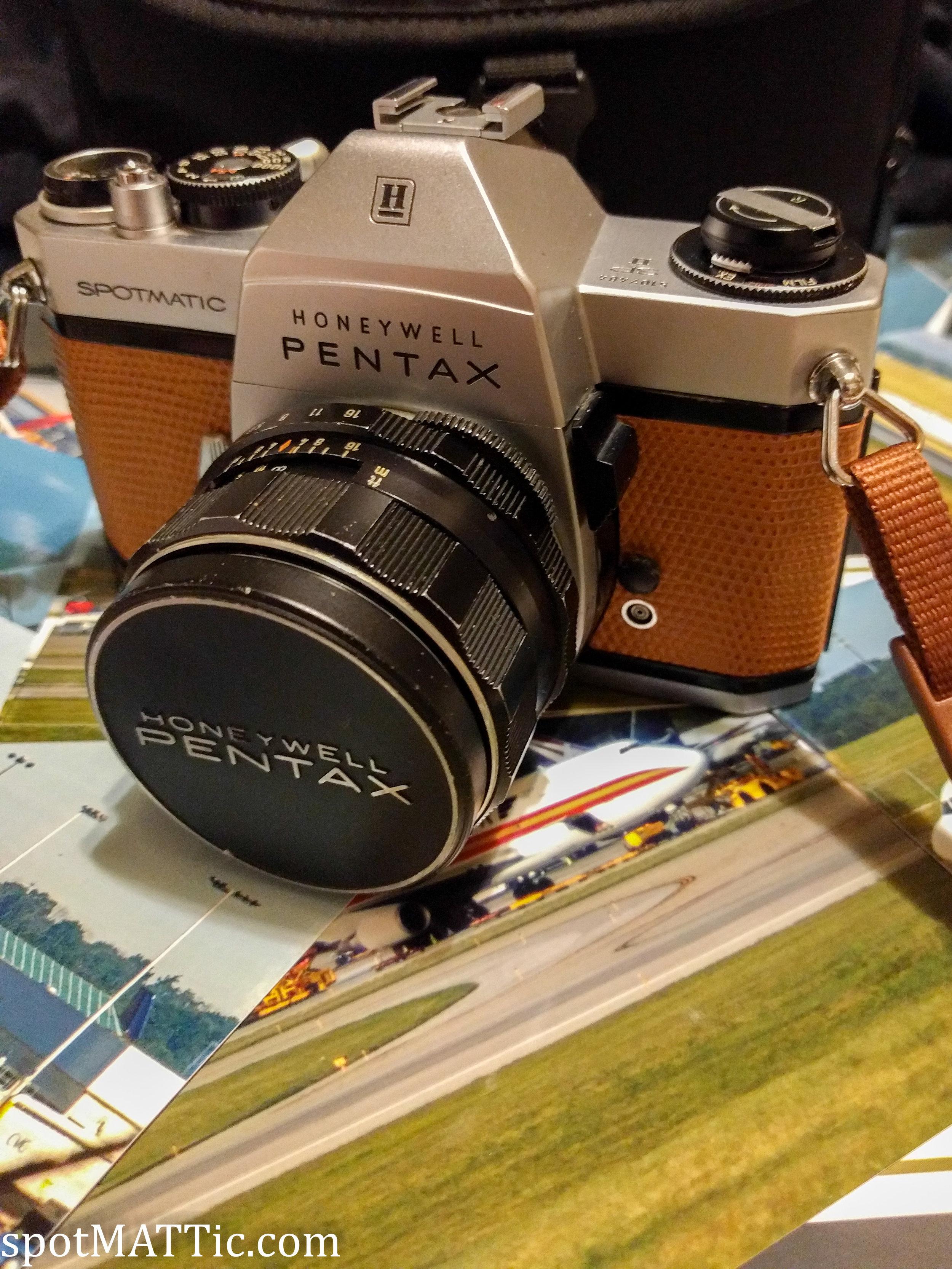 Honeywell Pentax Spotmatic SP II with 50mm F1.4