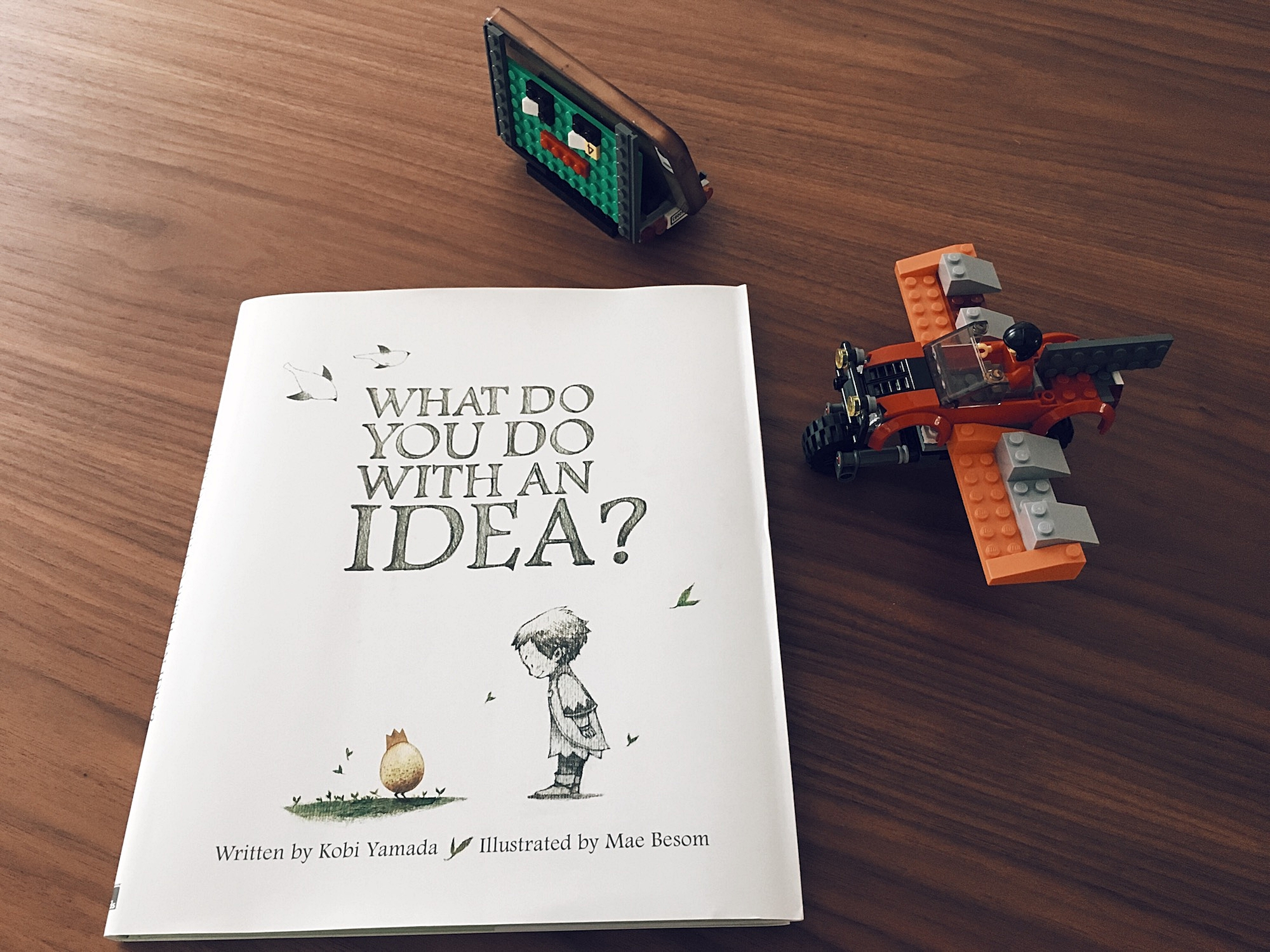 'What Do You Do With An Idea' Written by Kobi Yamada and Illustrated by Mae Besom