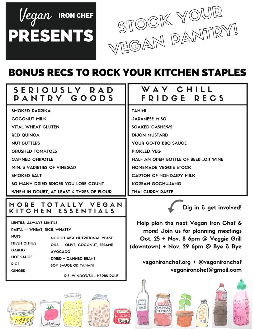 Vegan Iron Chef Rock Your Kitchen
