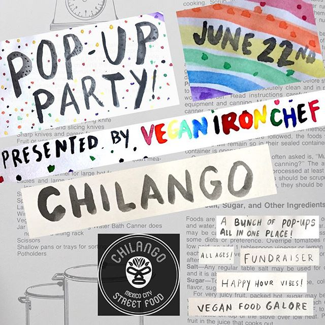 This is the final vendor reveal for our #PDXPopUpParty and it's @chilangopdx 🥳🔥🔥 We are so excited to have all of these amazing vegan pop-ups in one place! Tickets available through the link in our bio! In the meantime, you can find @chilangopdx's next pop-up at @metalwoodpdx on Sat, May 4th!! #ChilangoPDX #VeganIronChef