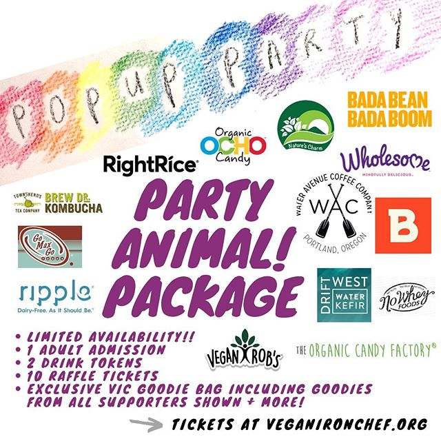 We have a few Party Animal tickets left! See the link in our bio for more info on other tickets as well. We're getting closer!! #PDXPopUpParty