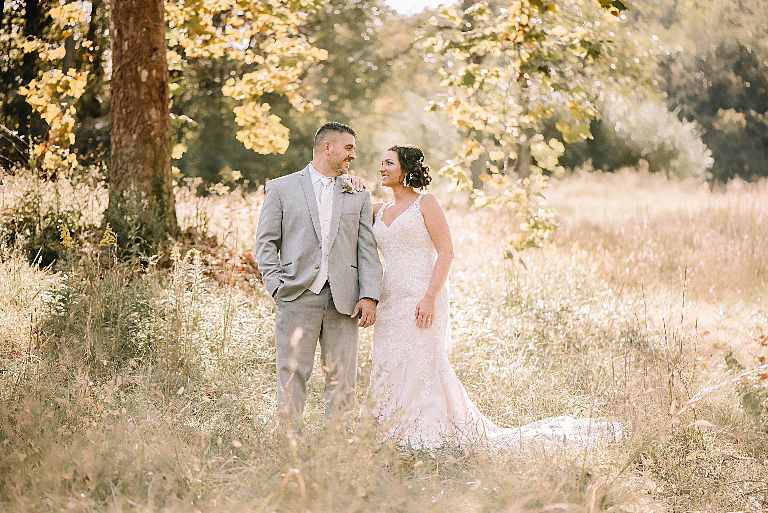 Kristina & Corey Choate - October 12, 2018Logan Kilgore Photography