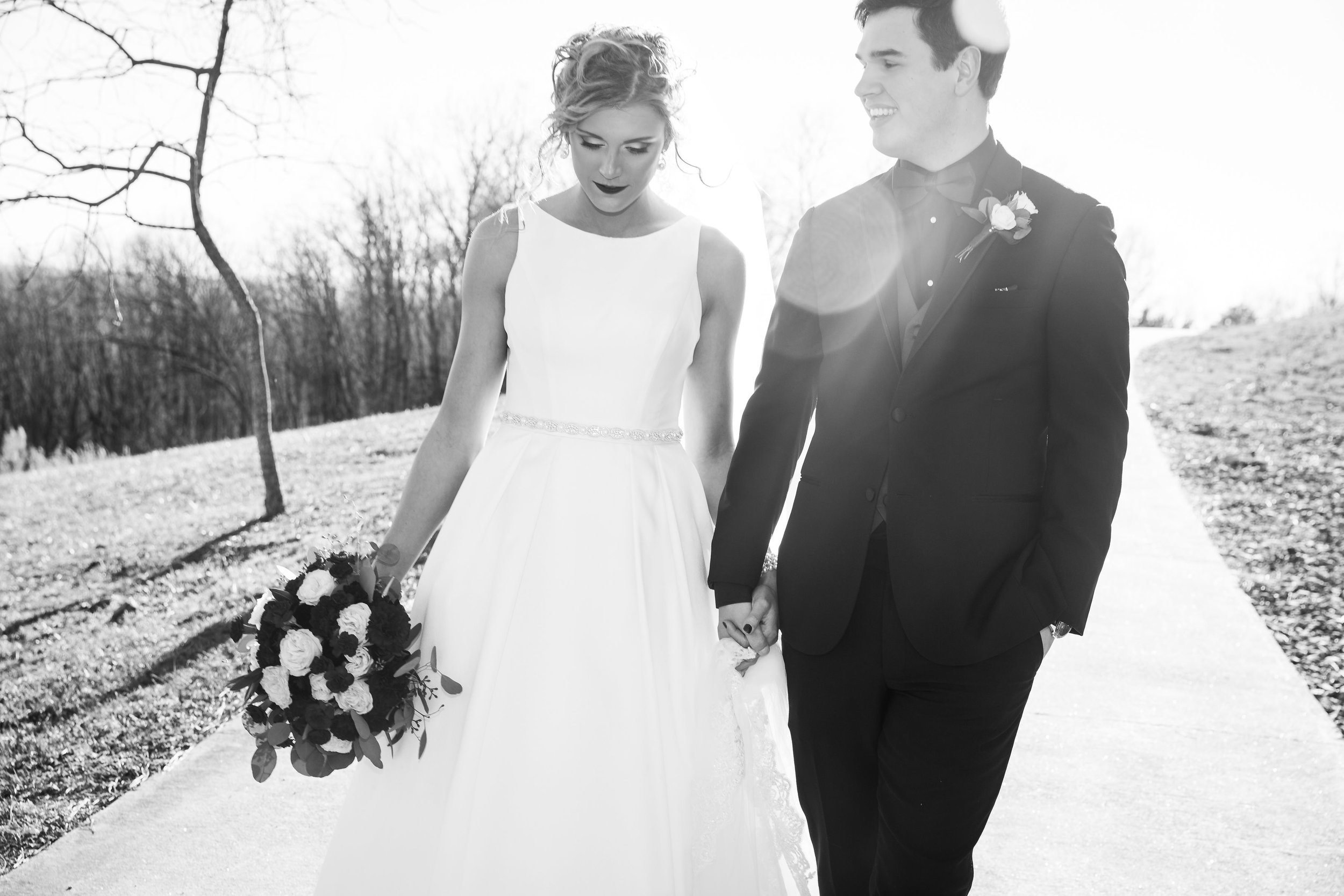 Britni & Garrett Chisenall - January 5, 2019Sara Grace Photography