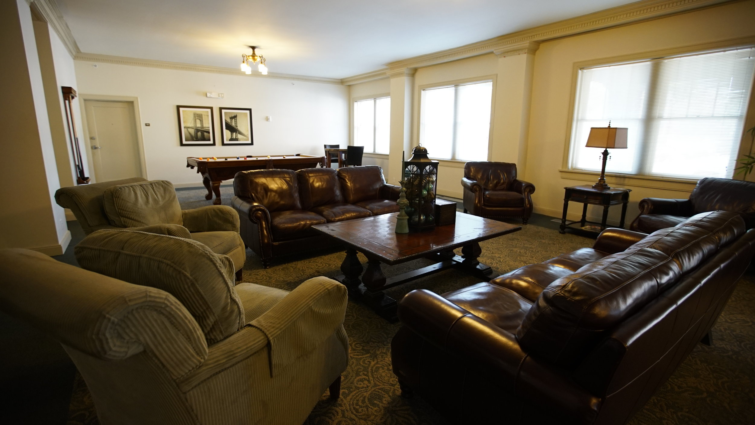 chatham senior apartments grand room