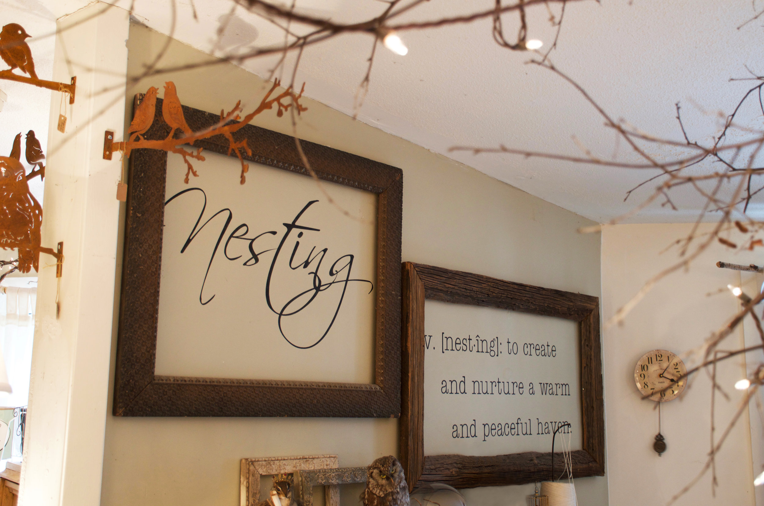 Nesting: to create and nurture a warm and peaceful haven