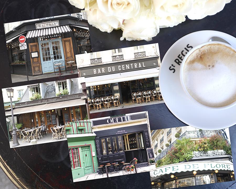 Paris Cafe Stationery Postcards 4