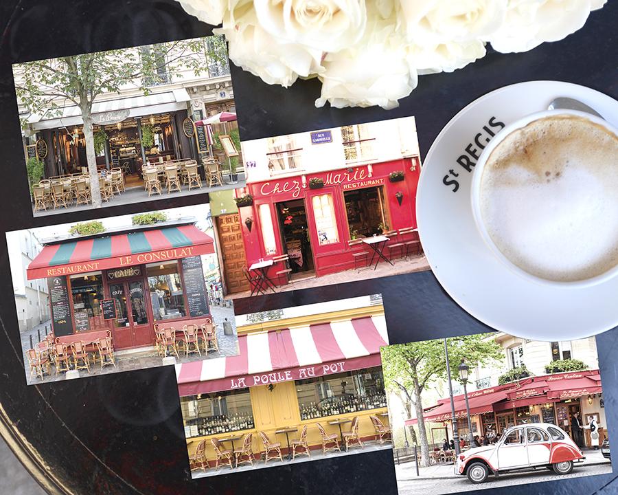 Paris Cafe Postcards Set 3