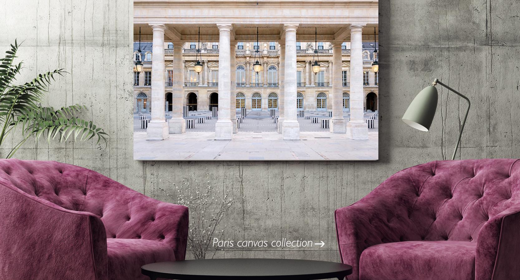 Paris Canvas Wall Art Collection