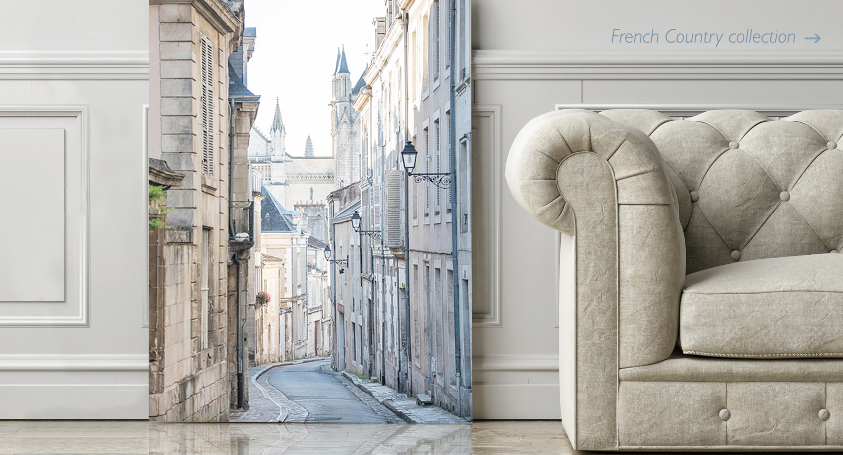 French Country Home Decor Wall Art Collection