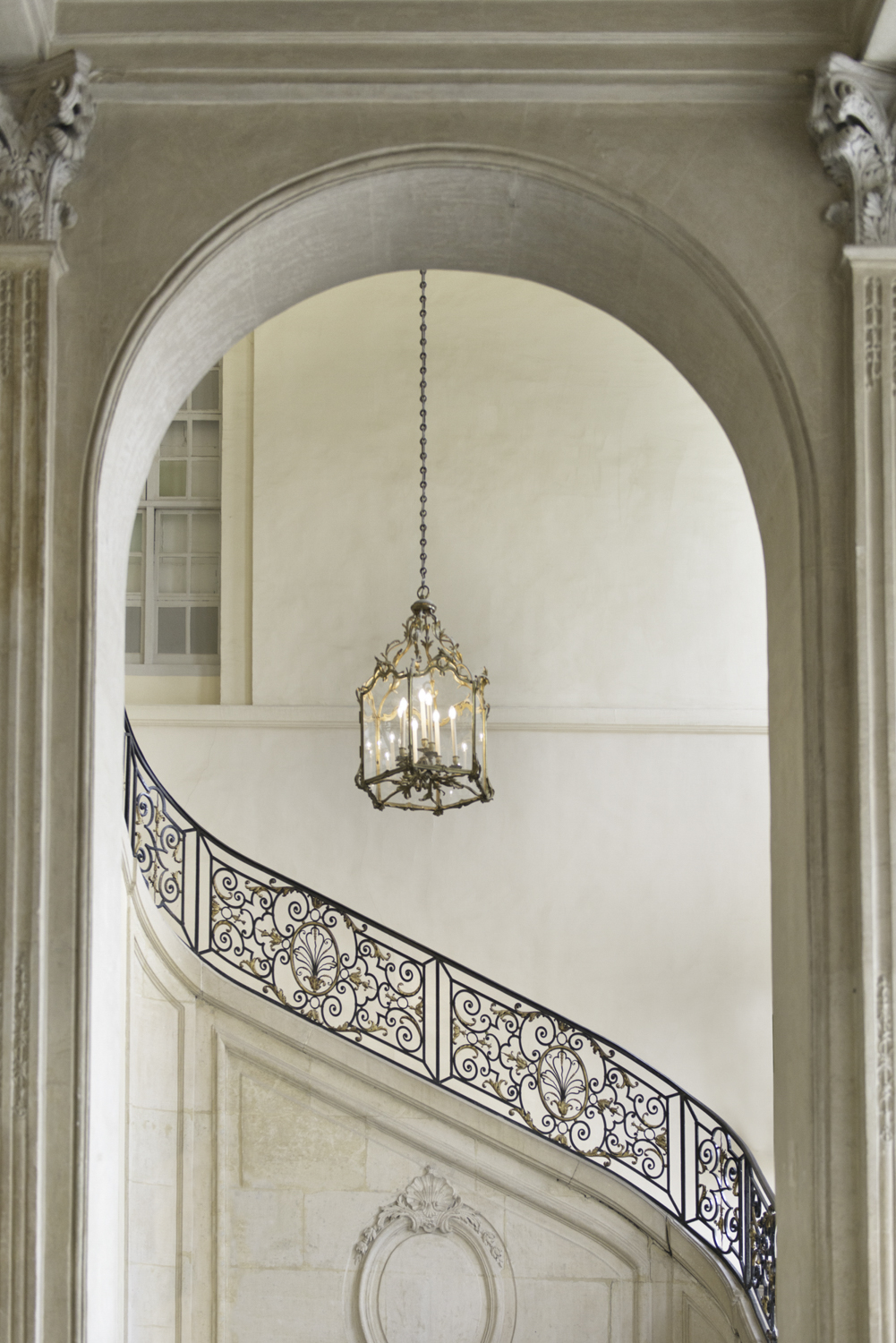 Musee Rodin Staircase