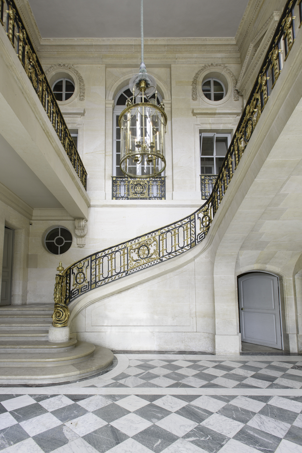 Le Petit Trianon Staircase at Versailles