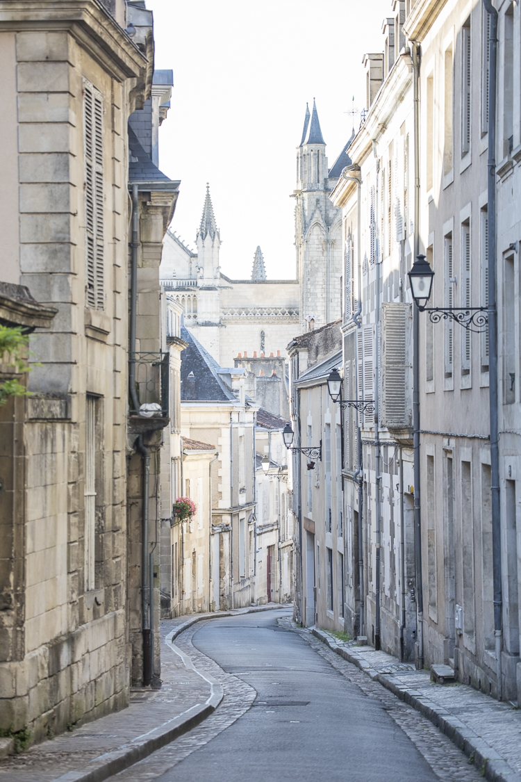 Street in Historic Poitiers