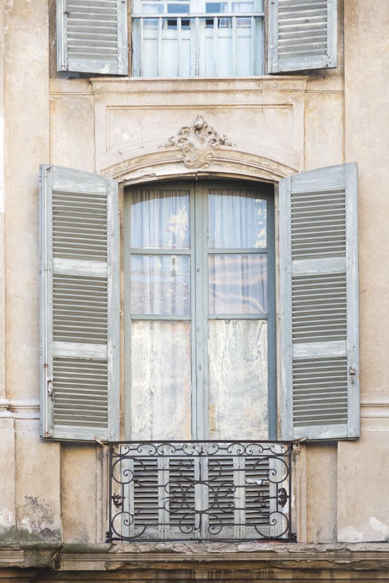 Window and Shutters in Aix-en-Provence