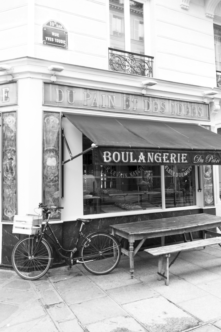Bicycle at the Boulangerie