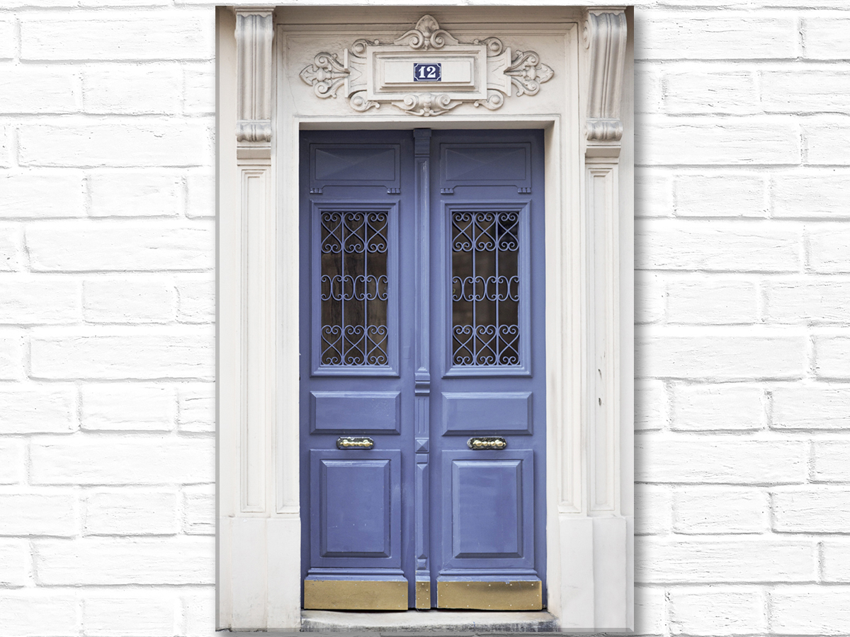 Blue Door No. 12