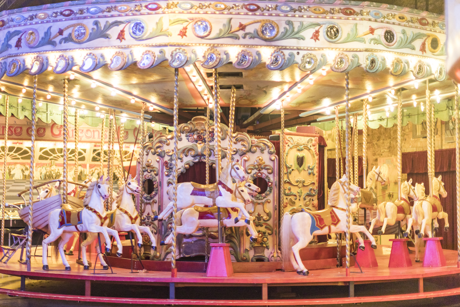 Early 1900s carousel