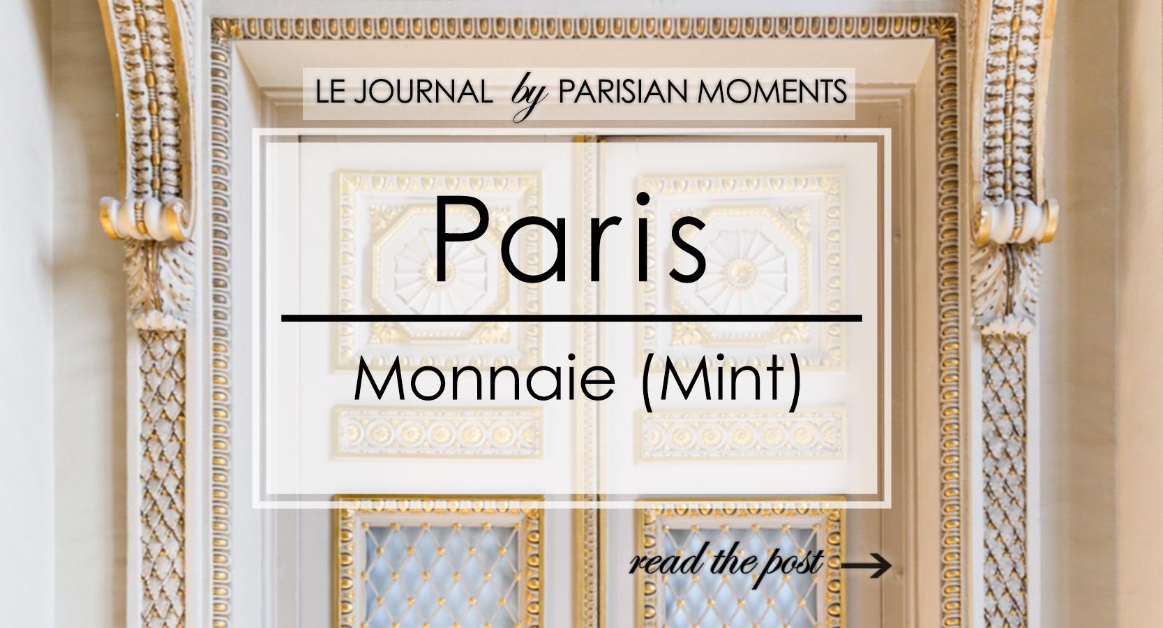 Paris Monnaie (Mint)