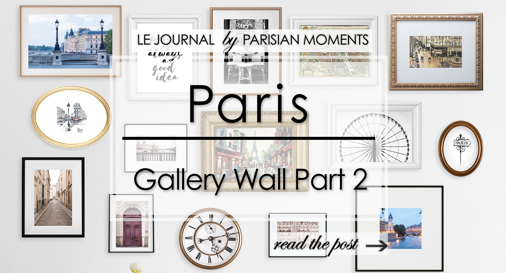 Paris Gallery Wall Part 2