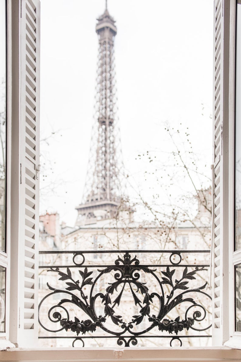 Winter Afternoon, Paris