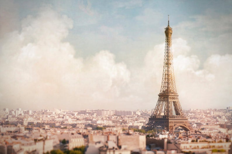 Paris Above the Clouds