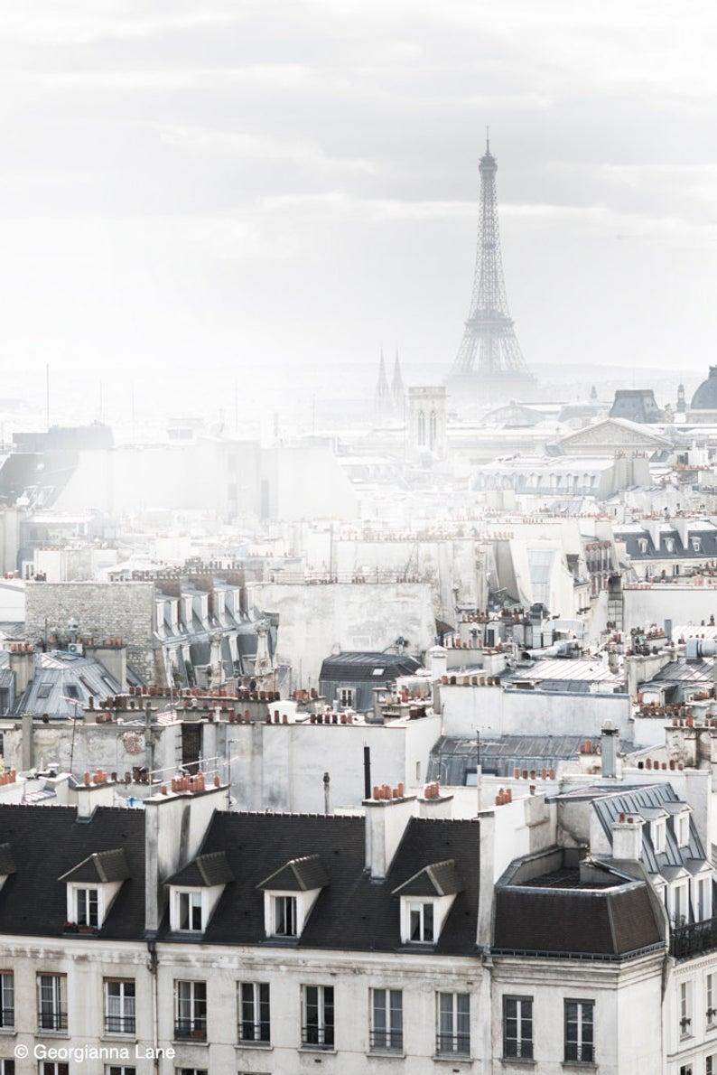 Eiffel Tower in the Fog