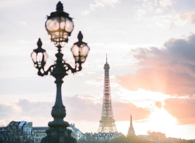 Sunset, Pont Alexandre III
