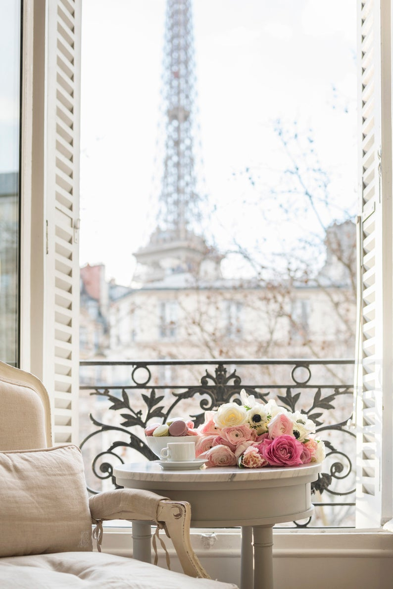 Coffee and Flowers in Paris