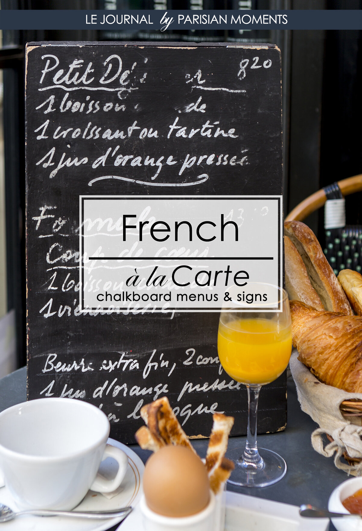 French Chalkboard Menus And Signs Parisian Moments