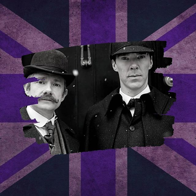 """British Culture 🇬🇧 This is the first installment of posts about British Culture. We start with a legend of British literature.  10 Facts about Sherlock Holmes.  1. Sherlock Holmes is a private detective.  2. Sir Arthur Conan Doyle, who created  Sherlock Holmes, was born in Scotland.  3. Sherlock Holmes first appeared in a detective novel called """"A Study in Scarlet"""". 4. Sherlock gained popularity in a series of short stories in 1891.  5. A Scandal in Bohemian was the name of the first short story.  6. Sherlock's assistant is Dr Watson.  7. Sherlock lived at 221B Baker Street, London  8. Holmes had amazing powers of """"deduction""""  9. The Guinness World Records list Sherlock Holmes as the most portrayed movie character in History.  10. The second Sherlock Holmes novel was the result of a dinner party with Oscar Wilde.  Ok, so how many of these 10 facts did you know?  @jon.s.weaver used to read Sherlock Holmes in his teenage years, but doesn't like detective novels in general. #englishinminsk  #английскийвминске  #английскийминск  #britishculture"""