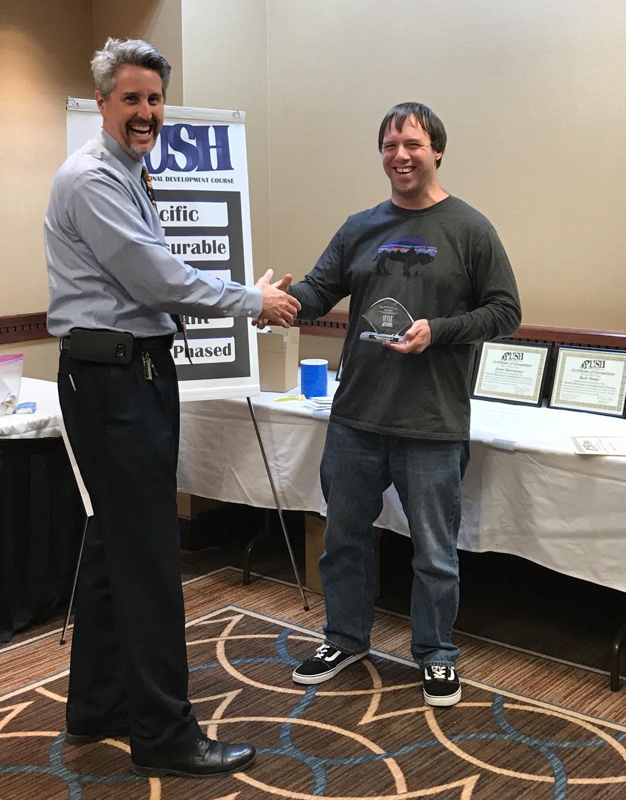 Sioux Falls Awards at Session 12 3/27/18 Richard Locker
