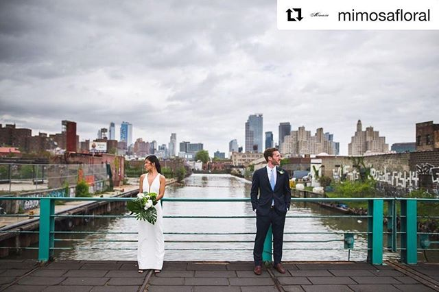 GOWANUS. BROOKLYN.  #Repost @mimosafloral with @get_repost ・・・ Industrial. Clean. Modern. Beautiful.   Flowers by @mimosafloral   Venue @greenbuildingnyc   photographer @meisterweddings   Couple @aimsfrank  @krmoore   . . . . . . #floralsbymimosa #spring #whimsicalflorals #springflowers #inspiration #styleshoot #underthefloralspell #industrialwedding #tropicalwedding #nyc #minimalwedding #modernindustrialwedding