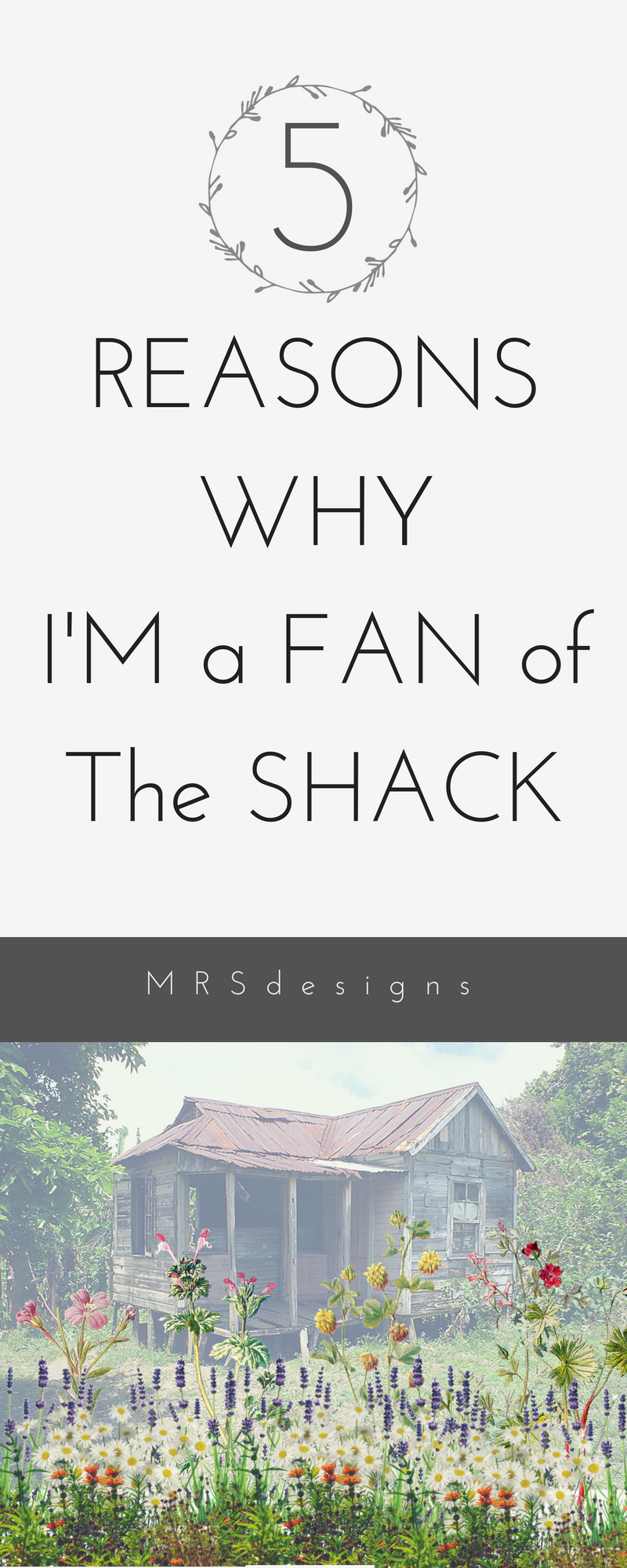 5 Reasons why I'm a fan of the Shack MRS designs