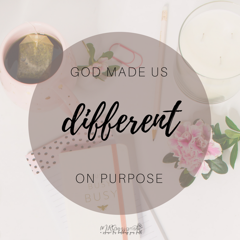 God Made Us Different On Purpose MRS designs