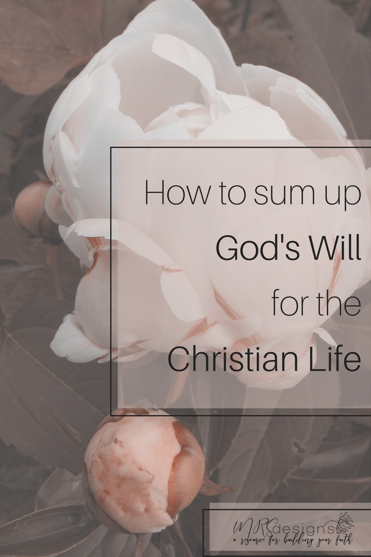 How to Know God's Will For Your Life | Faith | Christianity | Bible | Jesus | God's Will | Prayer | MRSdesigns.net