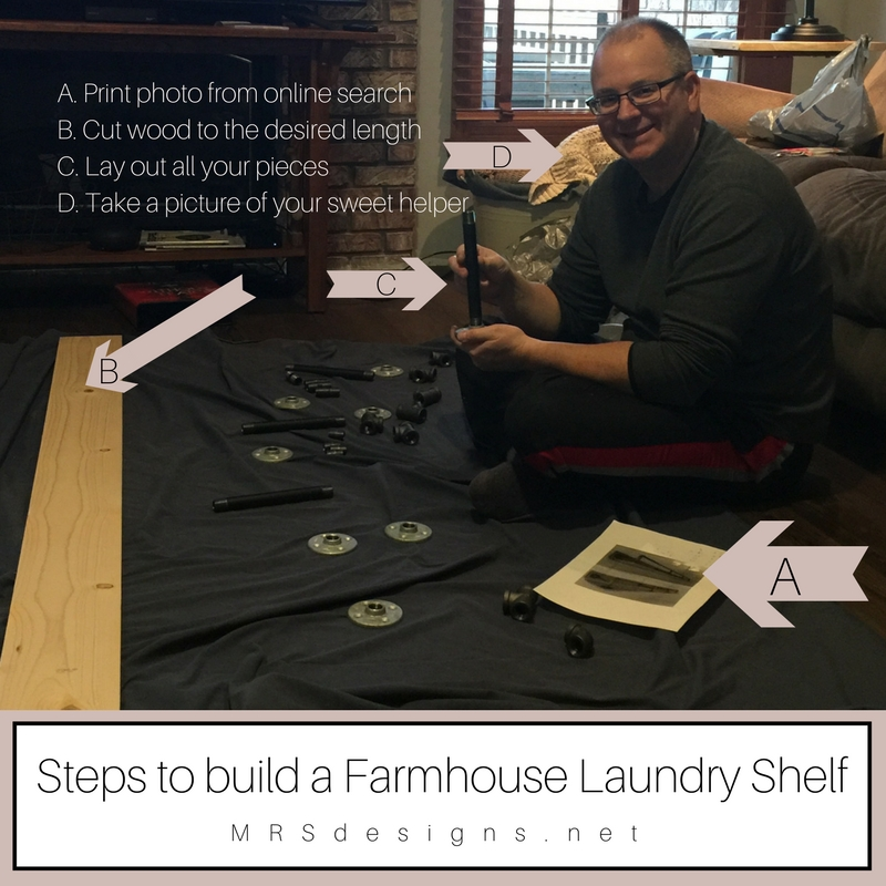 Steps to build a Farmhouse Laundry Shelf.jpg