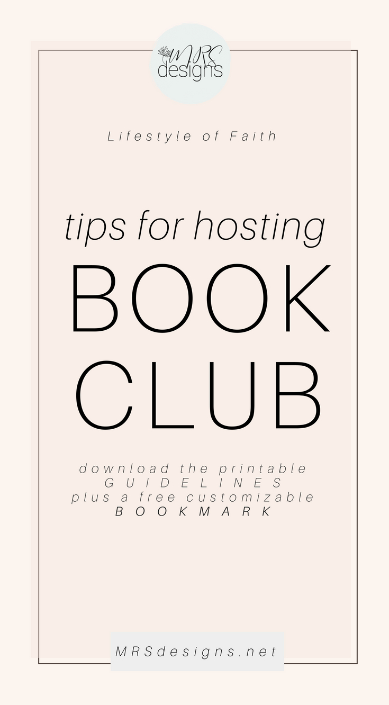 How to Host a Book Club Plus Free Downloads MRSdesigns.net #bookclub #lifestyleoffaith #bible #biblestudy #christianity 4.jpg
