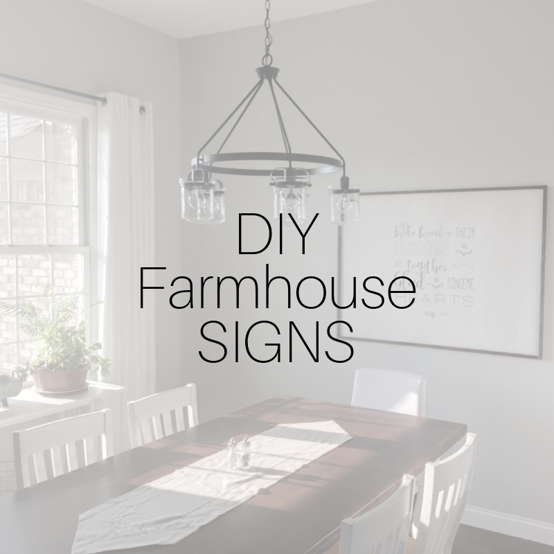 DIY Farmhouse Signs for under $20 MRSdesigns.net #farmhouse #farmhousedecor