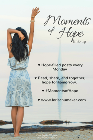 Link Up Lori Shumaker Moments of Hope